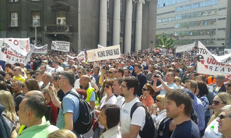 Udruga Franak: Prosvjede ćemo organizirati opet ako HNB i Vlada ne reagiraju!