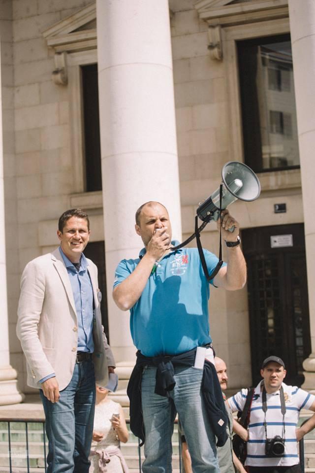 Udruga Franak prosvjeduje pred HNB-om: Dosta je manipulacija i zastrašivanja