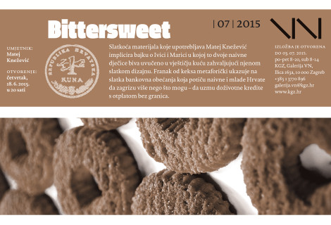 Bittersweet izložba by Matej Knežević – od 18.06. do 04.07.2015.
