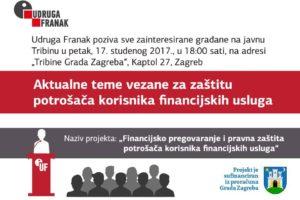 BESPLATNA EDUKACIJA O ZAŠTITI POTROŠAČA KORISNIKA FINANCIJSKIH USLUGA