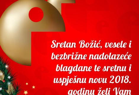BLAGOSLOVLJEN BOŽIĆ I SRETNA NOVA 2018!