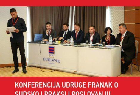 STRUČNA KONFERENCIJA UDRUGE FRANAK