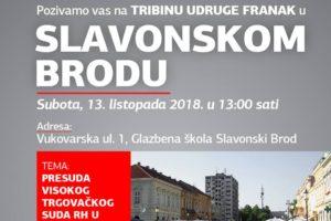 TRIBINA – SLAVONSKI BROD