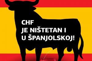 VALUTNA KLAUZULA CHF NEPOŠTENA JE ODNOSNO NIŠTETNA I U ŠPANJOLSKOJ