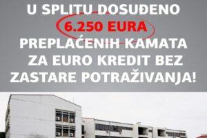PRESUDA ZA KAMATE IZ EURO KREDITA!