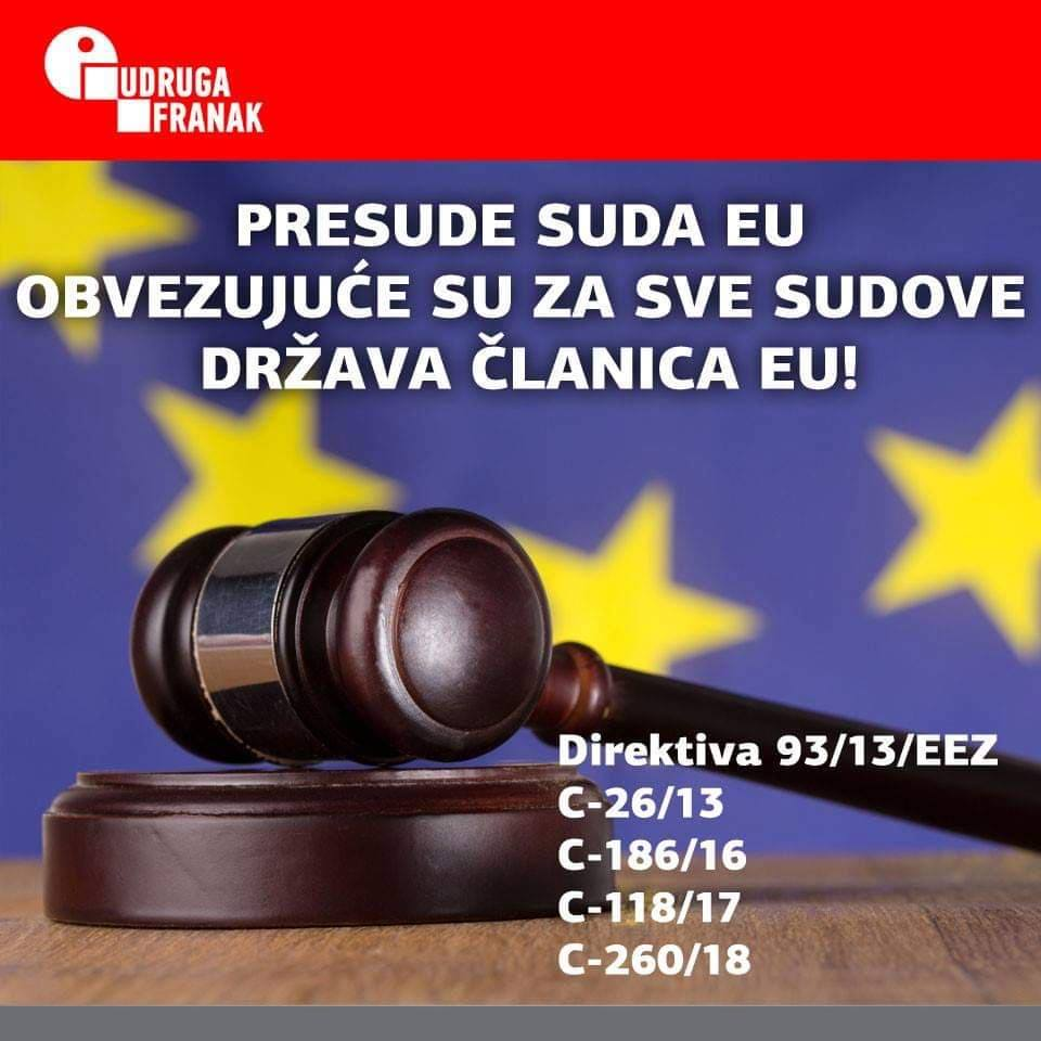 16.8.2019. Presude suda EU