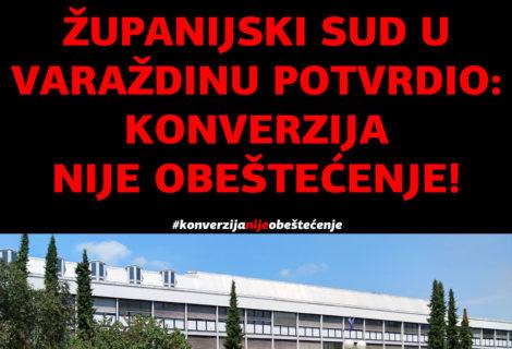 ŽUPANIJSKI SUD U VARAŽDINU POSTUPA U SKLADU S PRESUDOM SUDA EU C-118/17!
