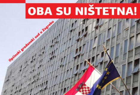 NIŠTETNA SU U CIJELOSTI DVA CHF UGOVORA O KREDITU!