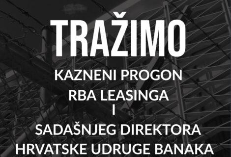TRAŽIMO OD DORH-A KAZNENI PROGON RBA I BANKARSKOG PREDVODNIKA ADROVIĆA!