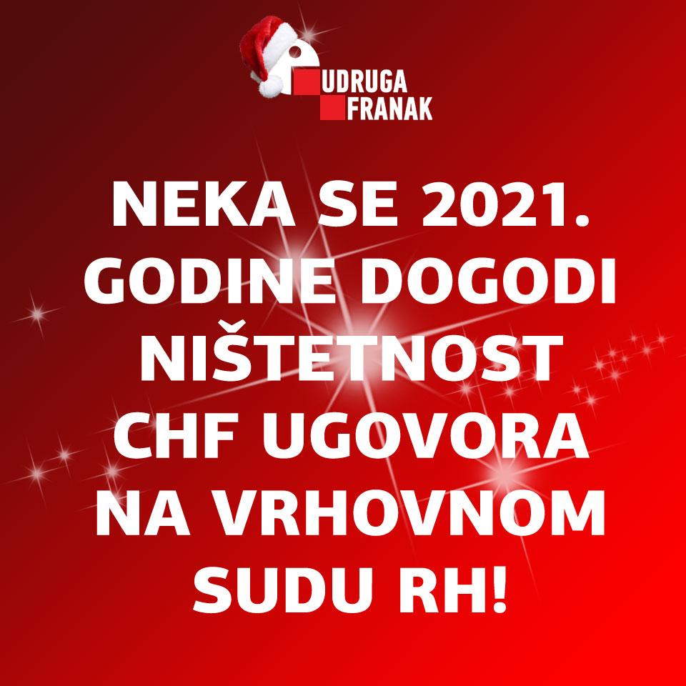 NEKA JE SVIM DOBRIM LJUDIMA USPJEŠNA I SRETNA 2021. GODINA!