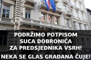 POTPIŠITE I PODIJELITE PETICIJU‼️ ZA suca Radovana Dobronića