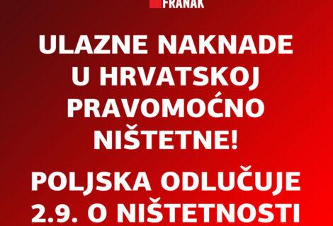 PRVA PRAVOMOĆNA PRESUDA O NIŠTETNOSTI ULAZNE NAKNADE ZA OBRADU KREDITA NA ŽUPANIJSKOM SUDU U ZAGREBU, BROJ PRESUDE Gž-1368/21!